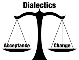 balance with acceptance and change